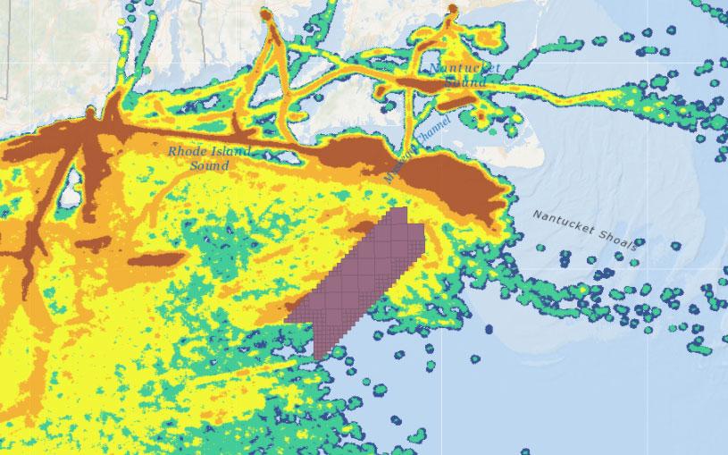 Vineyard Wind 1 Draft Environmental Impact Statement (DEIS) – Squid Fishing Vessel Activity (2015-2016)