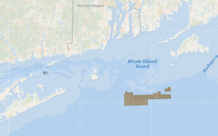 Offshore Wind Lease Area OCS-A 0487 (Deepwater Wind/Orsted)